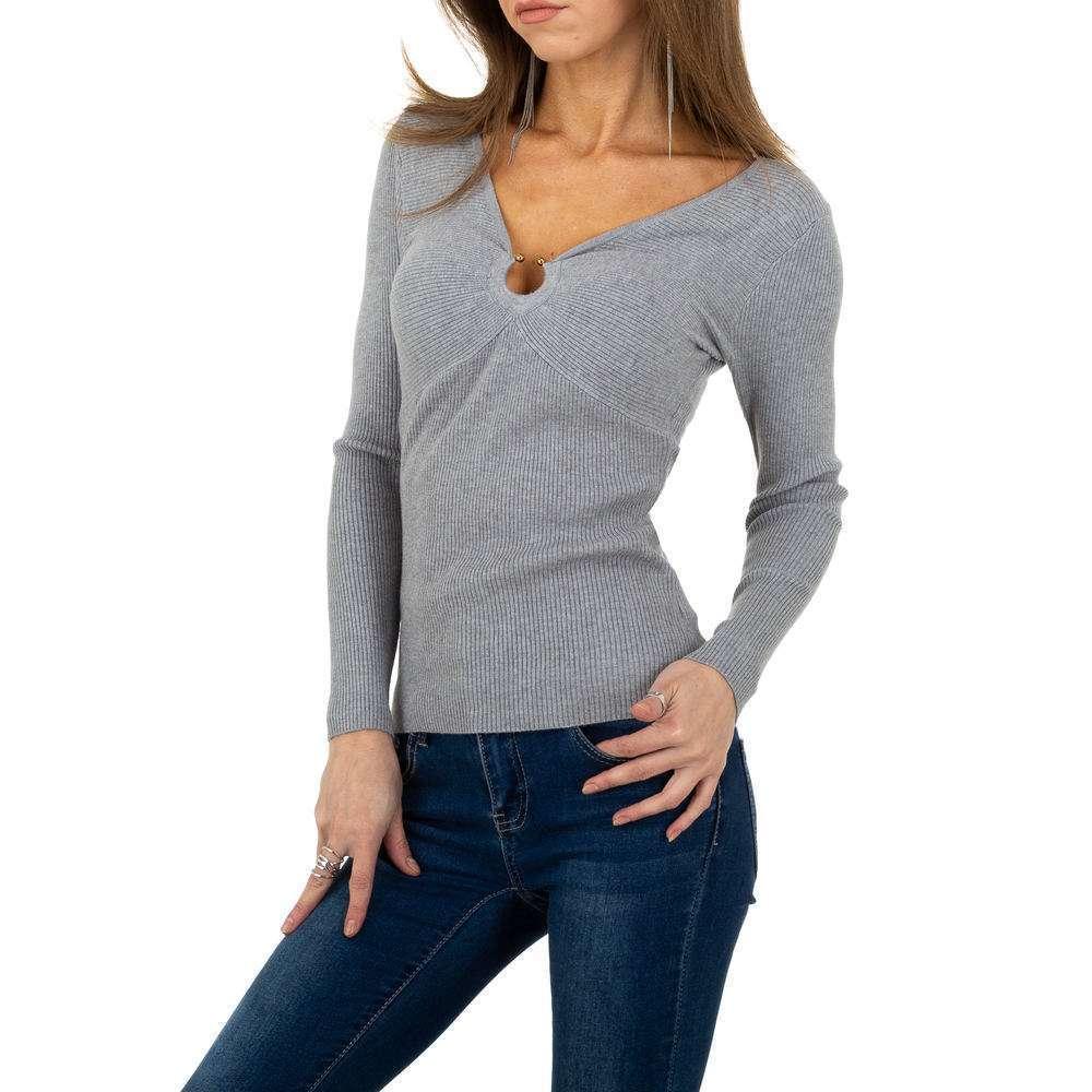Pulover pentru femei de la Whoo Fashion Gr. O singură mărime - gri