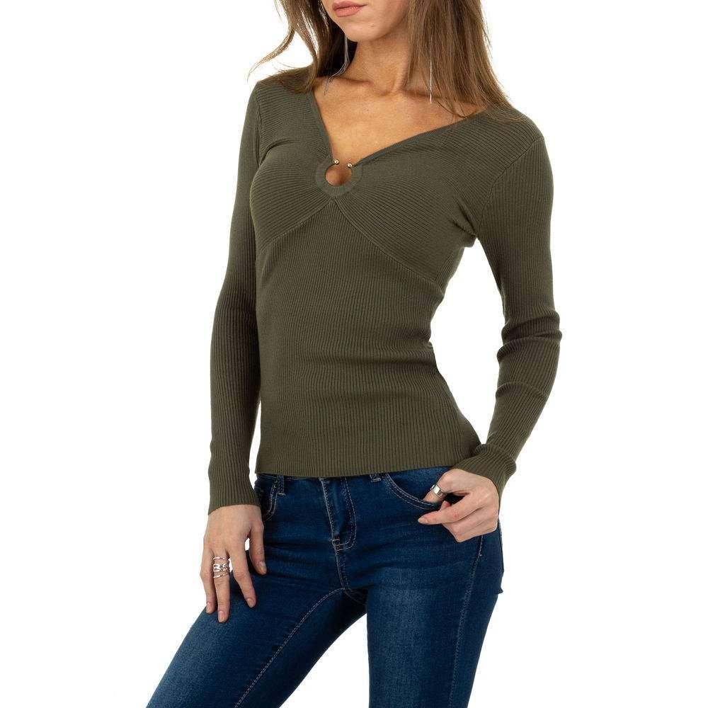 Pulover pentru femei de la Whoo Fashion Gr. O singură mărime - kaki - image 1
