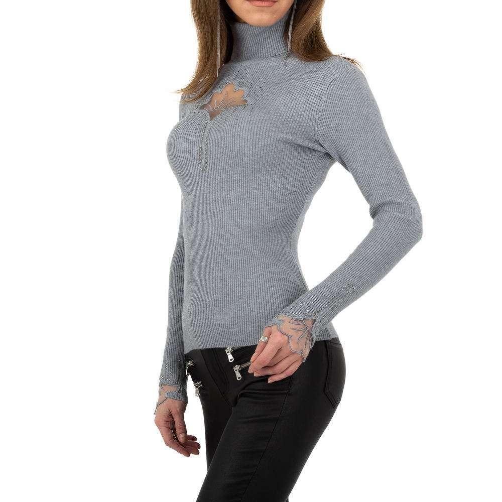 Pulover pentru femei de la Whoo Fashion Gr. O singură mărime - gri - image 2