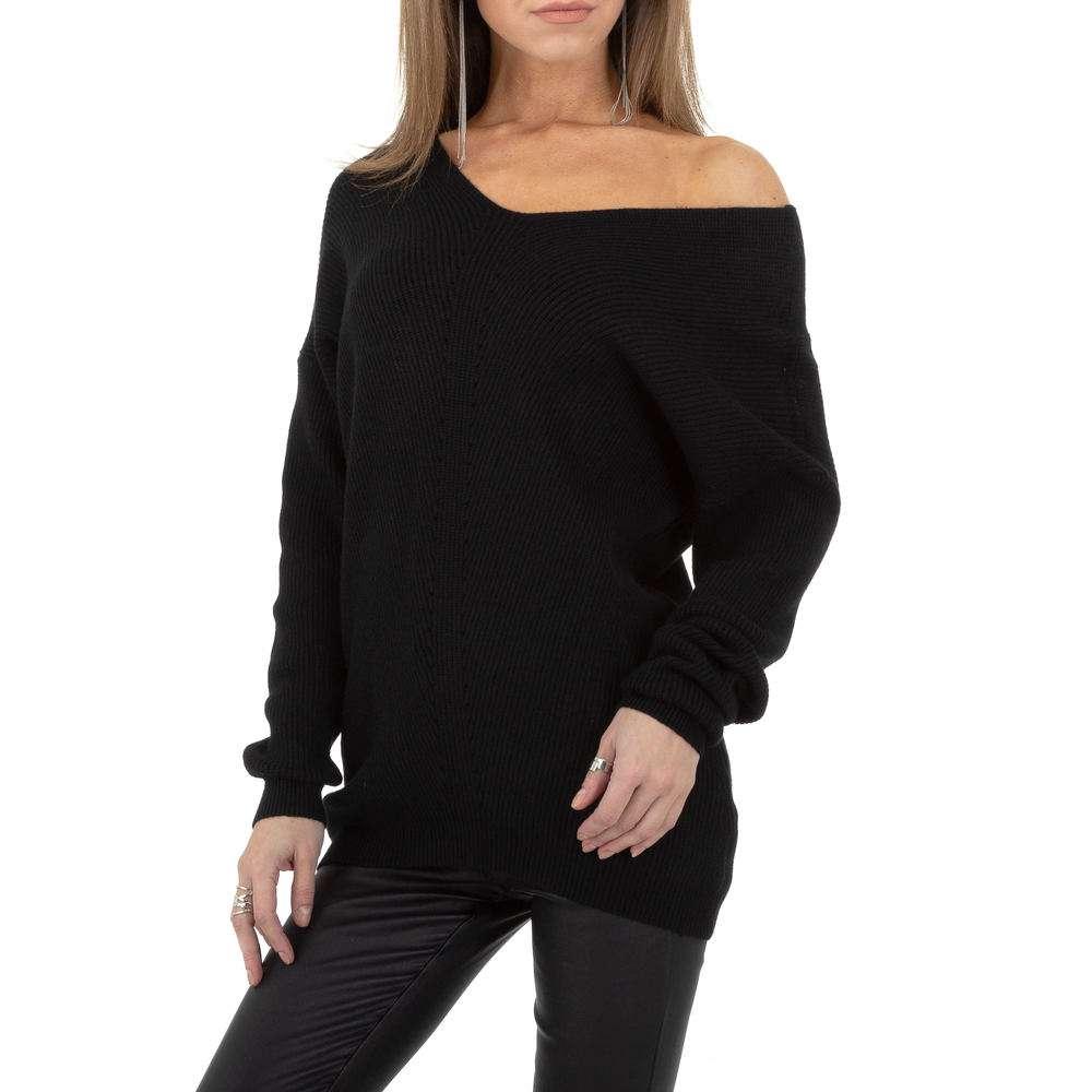Pulover pentru femei de la Whoo Fashion Gr. O singură mărime - negru
