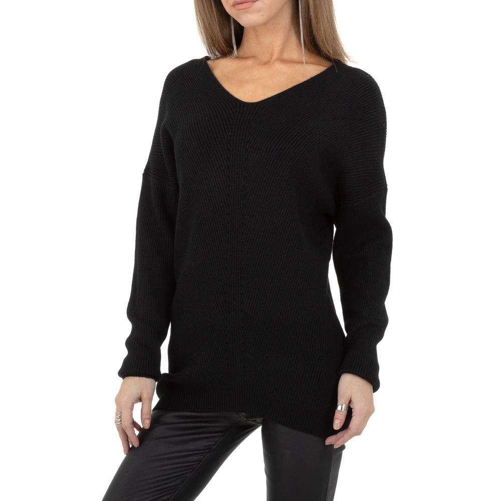 Pulover pentru femei de la Whoo Fashion Gr. O singură mărime - negru - image 5