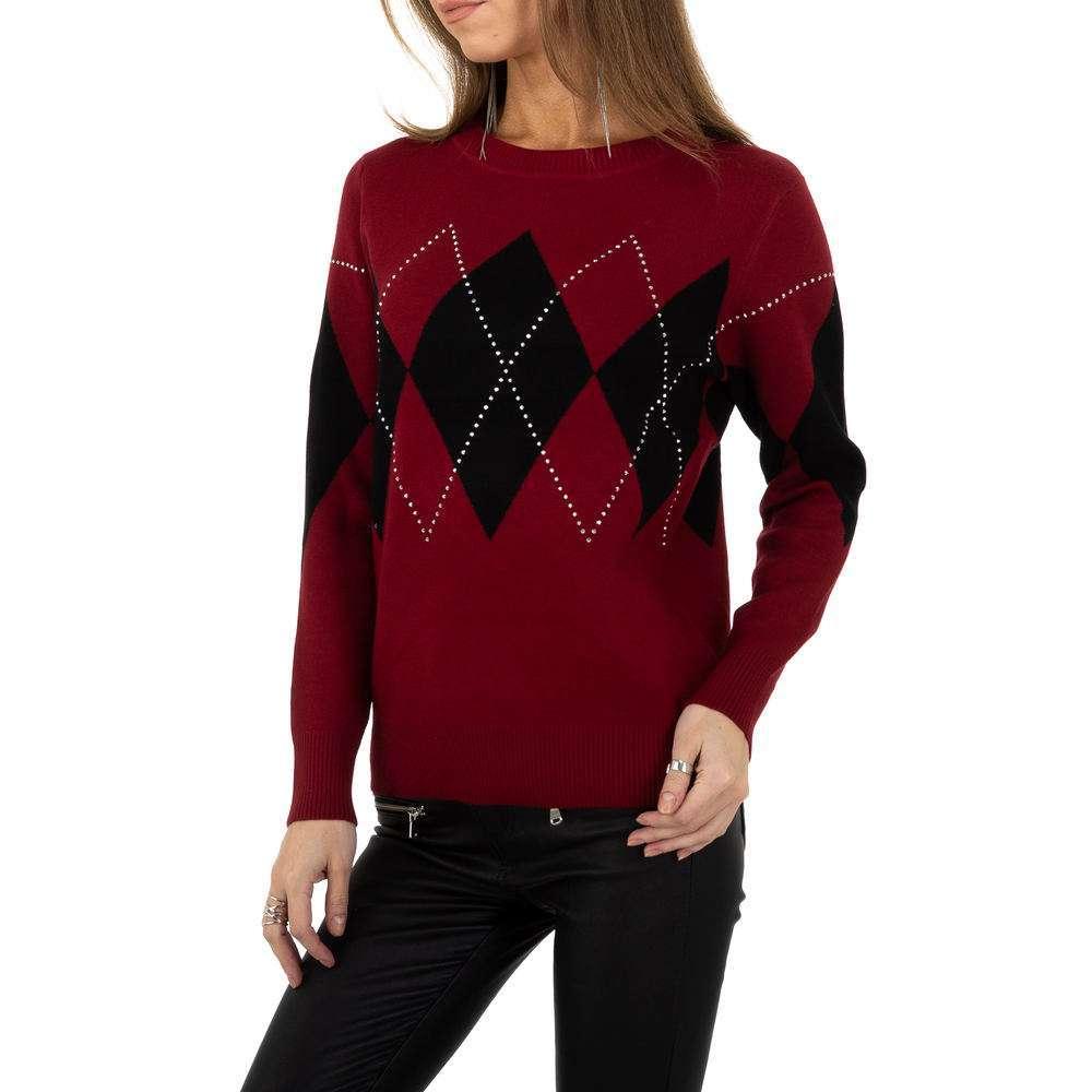 Pulover pentru femei de la Whoo Fashion Gr. O singură mărime - roșu - image 1