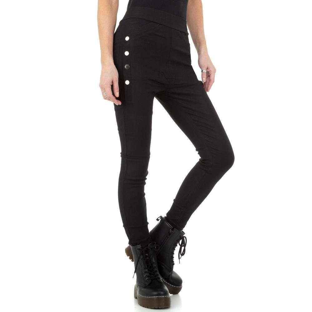 Pantaloni de dama de Holala Fashion - negri - image 1
