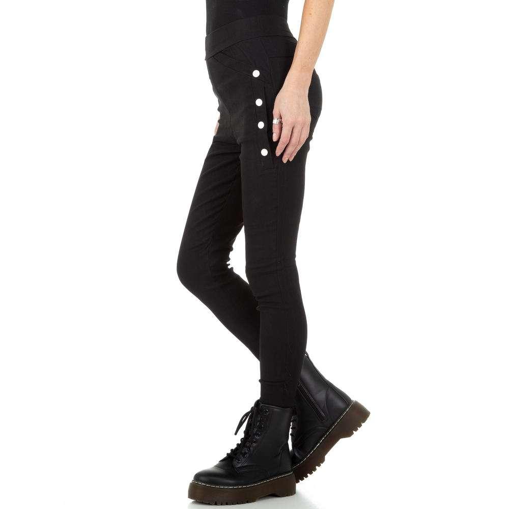Pantaloni de dama de Holala Fashion - negri - image 2