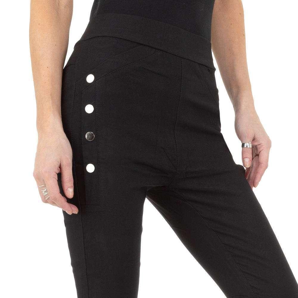 Pantaloni de dama de Holala Fashion - negri - image 4