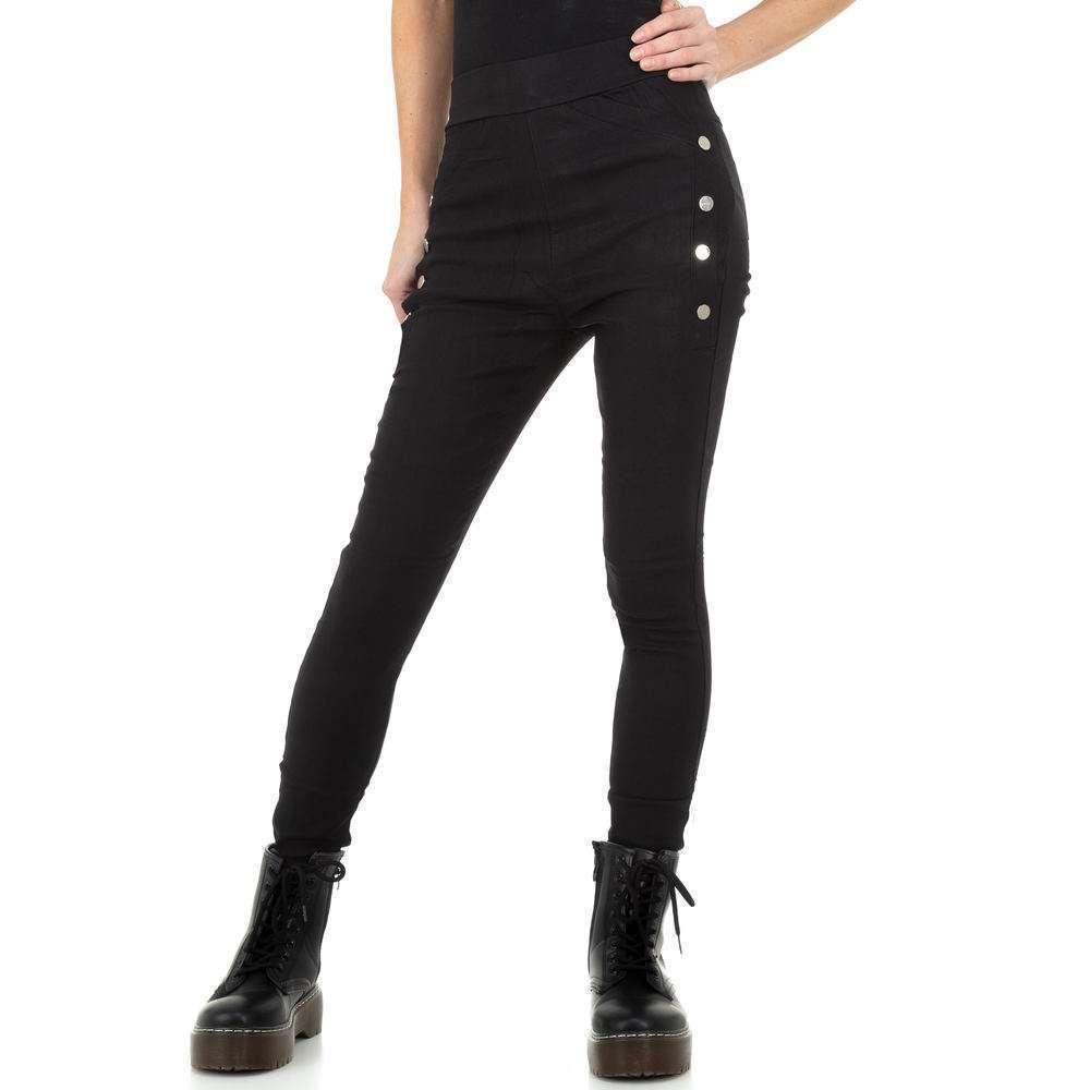 Pantaloni de dama de Holala Fashion - negri - image 5