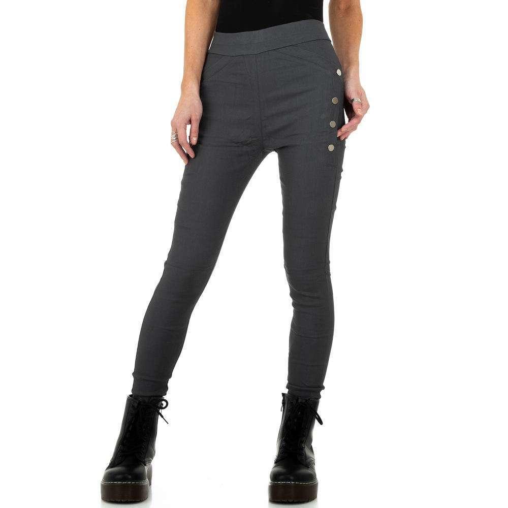 Pantaloni de dama de Holala Fashion - gri