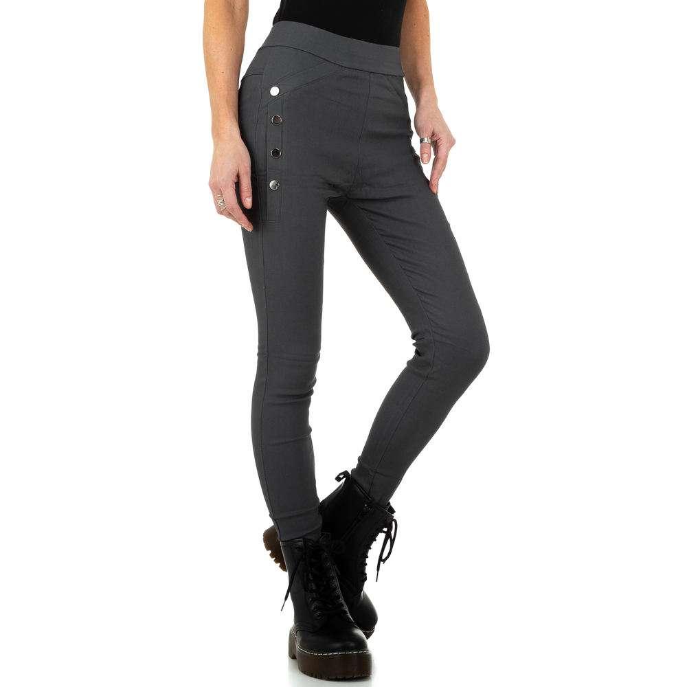 Pantaloni de dama de Holala Fashion - gri - image 5