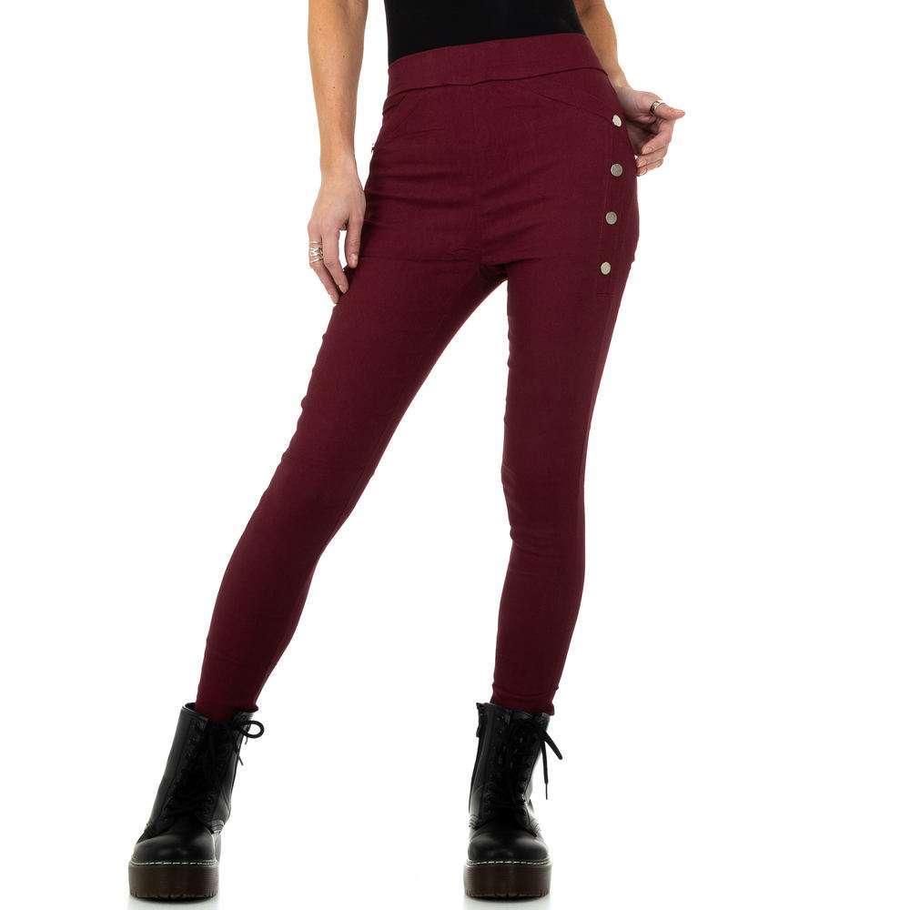 Pantaloni de dama de Holala Fashion - vin