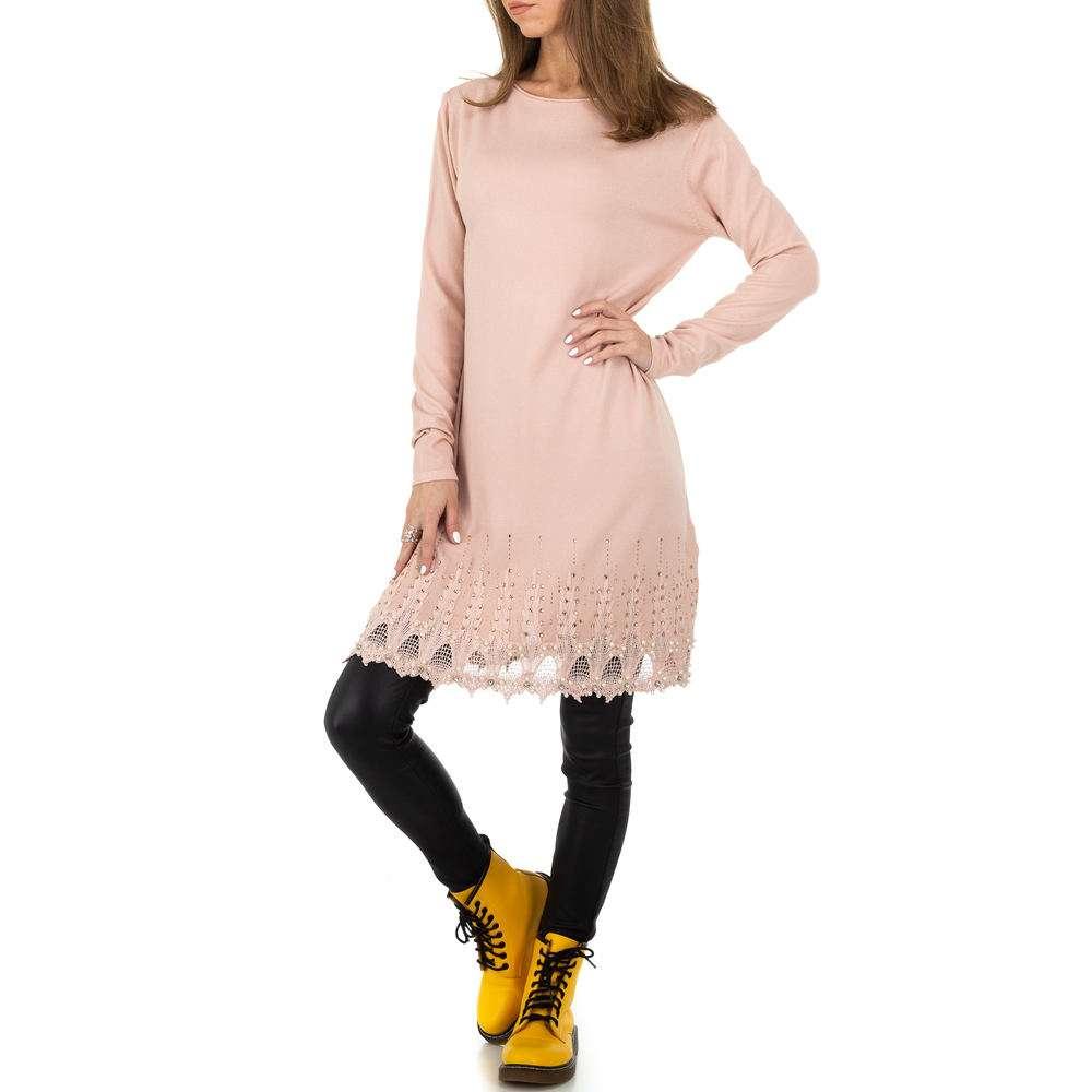 Pulover pentru femei de la Whoo Fashion Gr. O mărime - trandafir