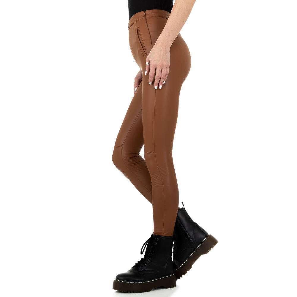 Pantaloni de dama de la Daysie - maro - image 2