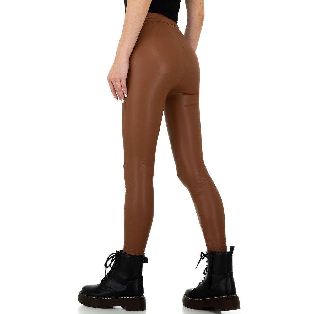 Pantaloni de dama de la Daysie - maro - image 3