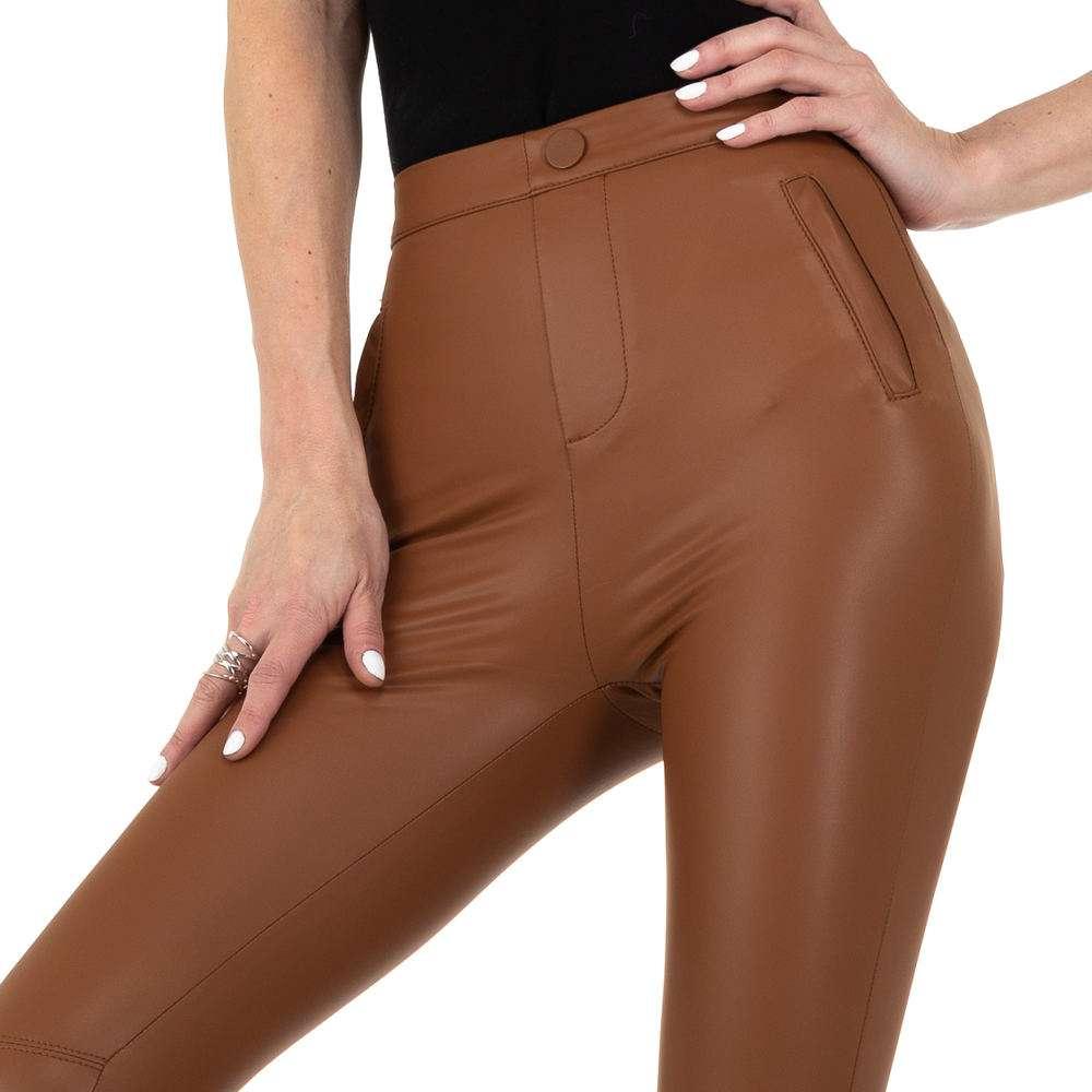 Pantaloni de dama de la Daysie - maro - image 4