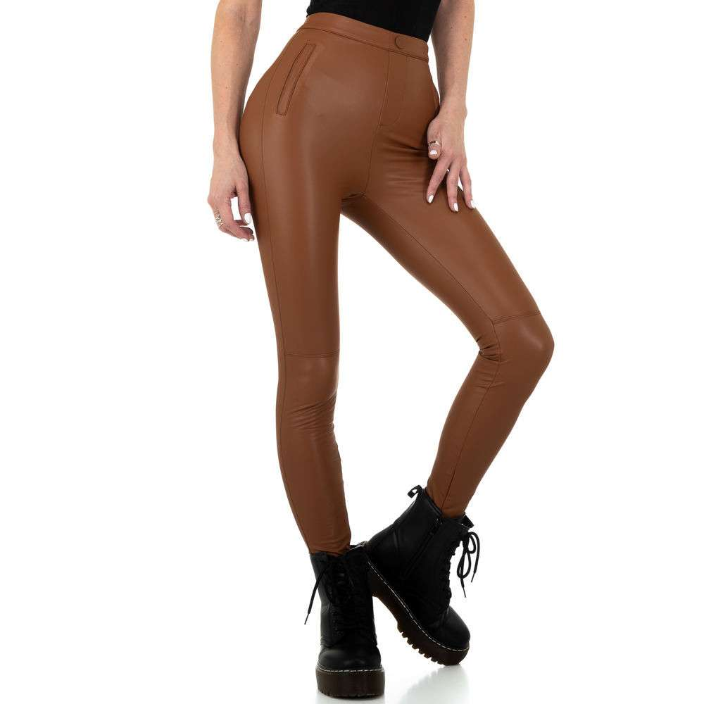 Pantaloni de dama de la Daysie - maro - image 5