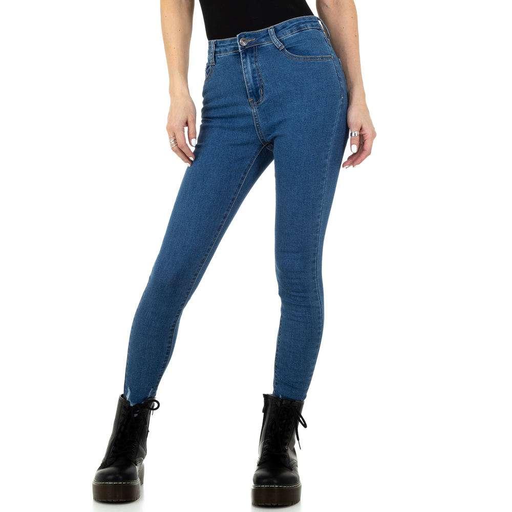 Blugi de damă de la Naumy Jeans - albastru - image 1