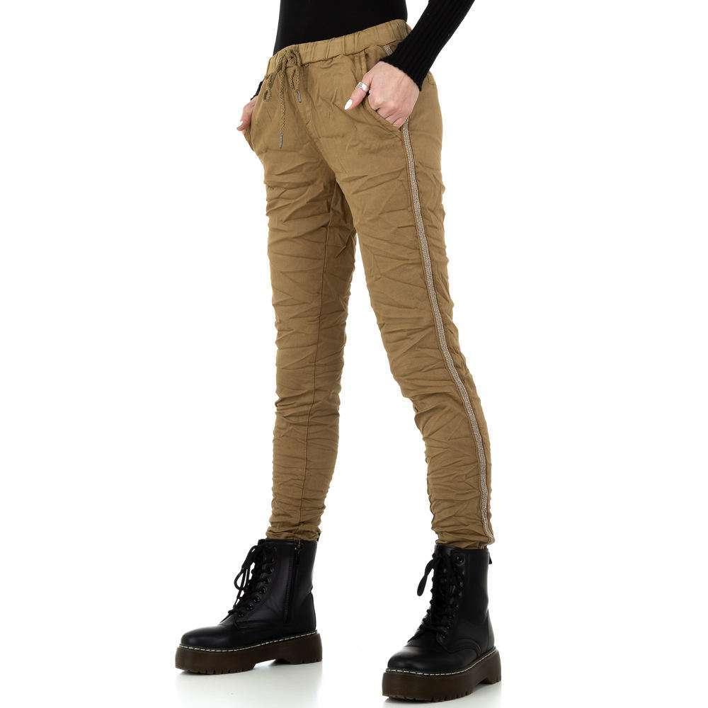 Pantaloni de dama de la Place du Jour - ciocolată - image 1