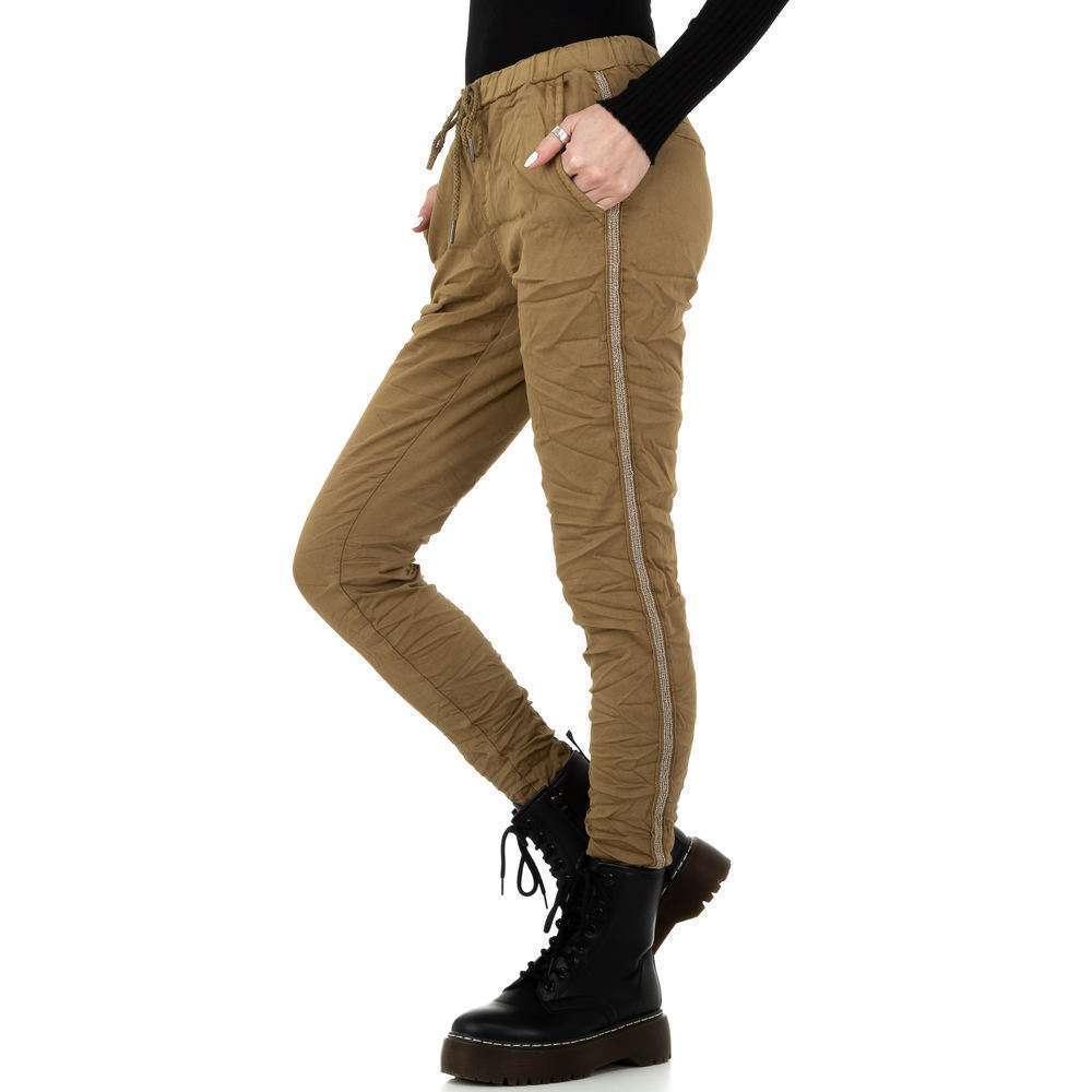 Pantaloni de dama de la Place du Jour - ciocolată - image 2