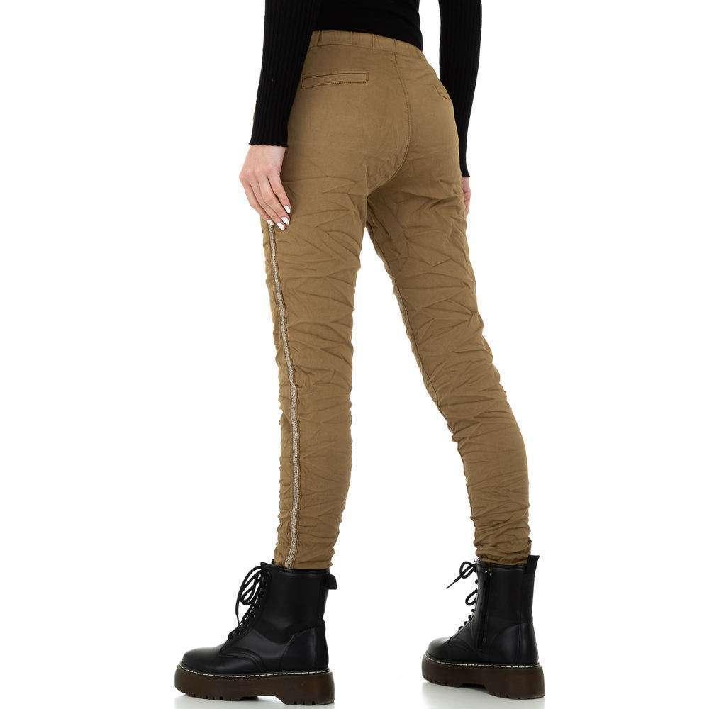 Pantaloni de dama de la Place du Jour - ciocolată - image 3