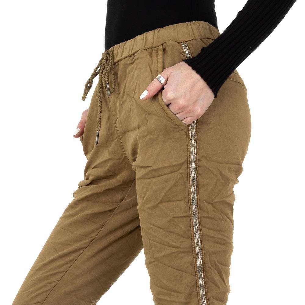 Pantaloni de dama de la Place du Jour - ciocolată - image 4