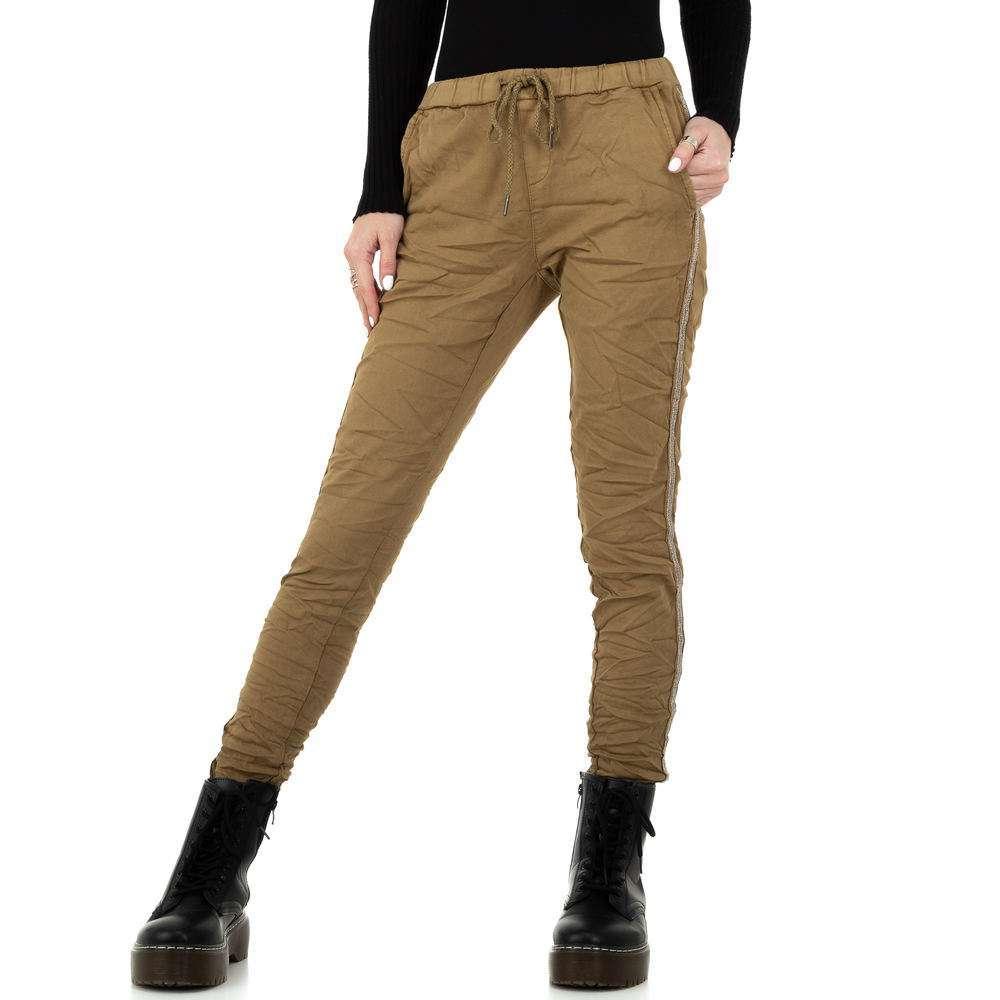 Pantaloni de dama de la Place du Jour - ciocolată - image 5