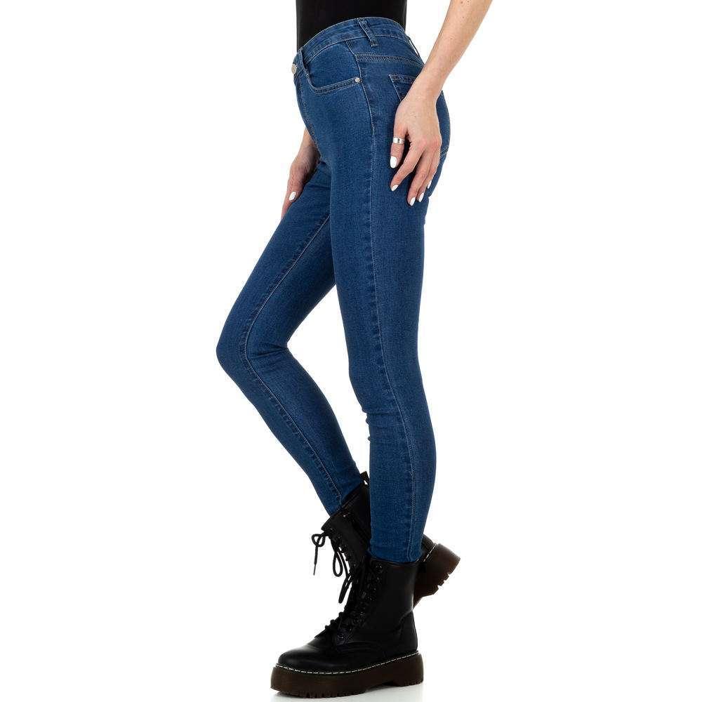 Blugi de damă de la Naumy Jeans - albastru - image 2