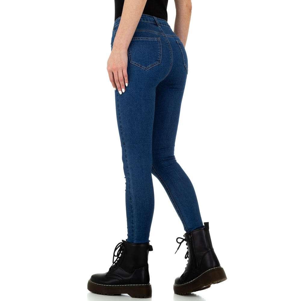 Blugi de damă de la Naumy Jeans - albastru - image 3