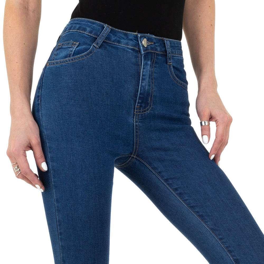 Blugi de damă de la Naumy Jeans - albastru - image 4