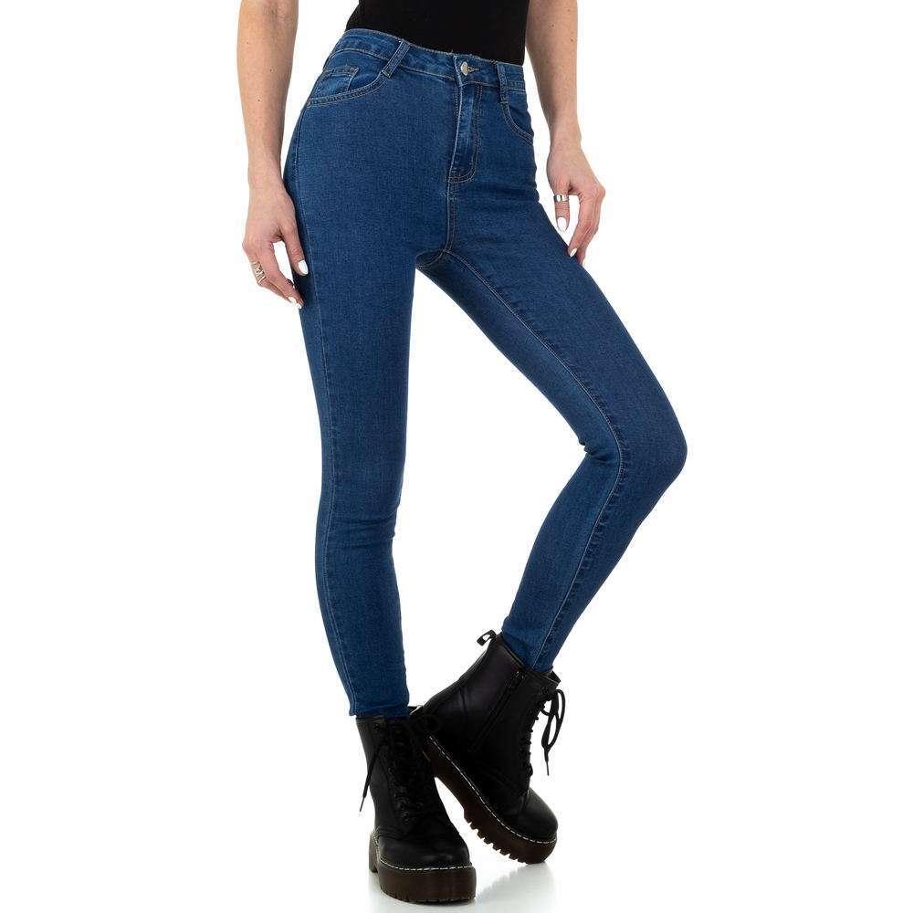 Blugi de damă de la Naumy Jeans - albastru - image 5