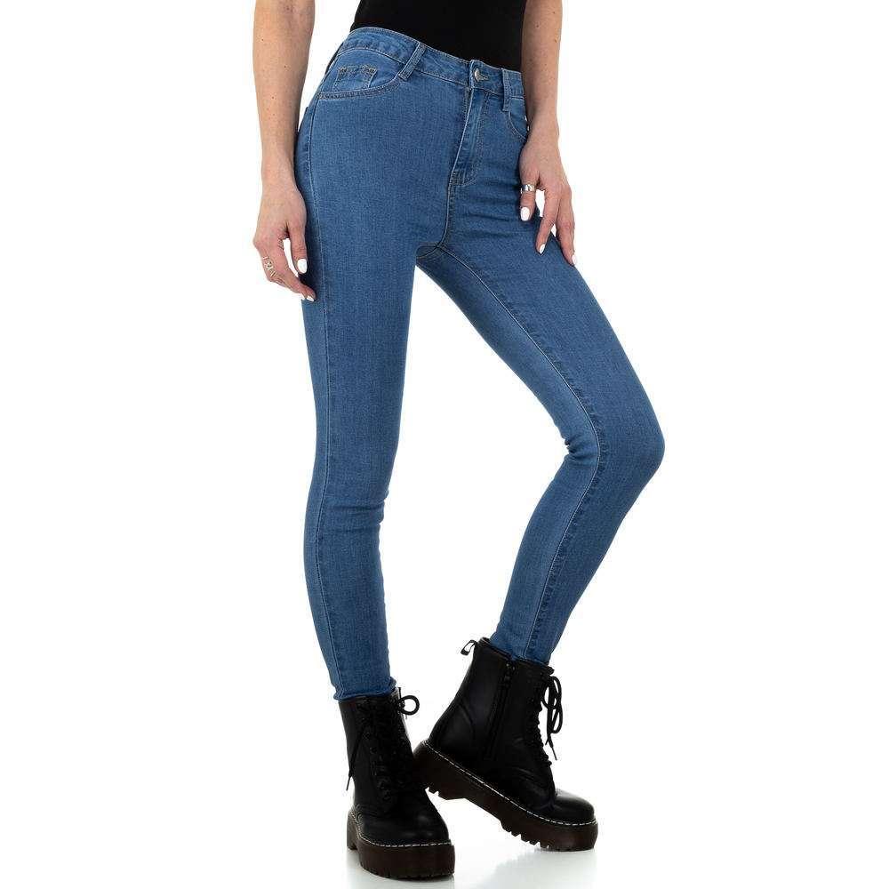 Blugi pentru femei de Naumy Jeans - deschis albastră - image 1