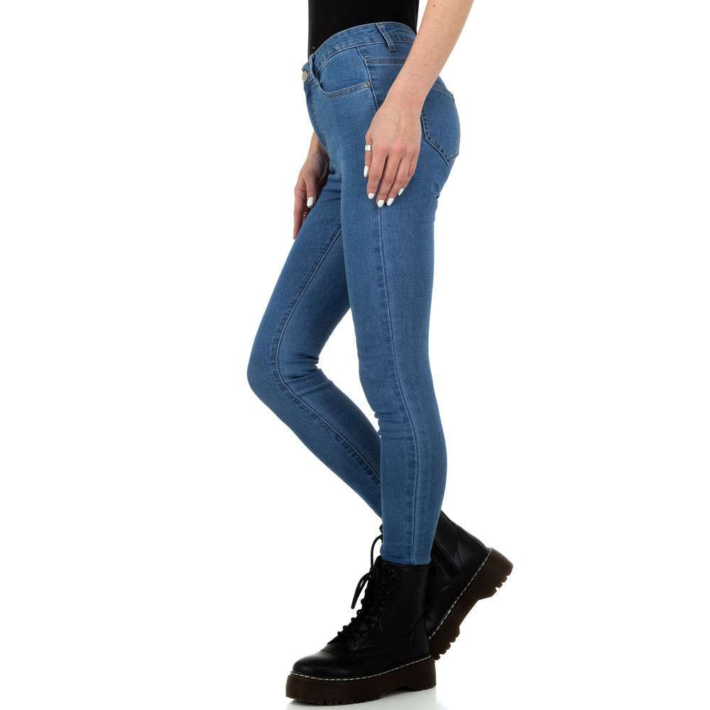 Blugi pentru femei de Naumy Jeans - deschis albastră - image 2