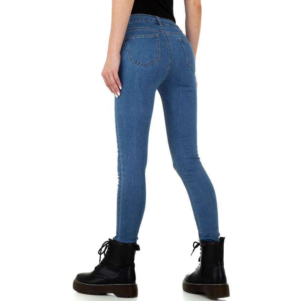 Blugi pentru femei de Naumy Jeans - deschis albastră - image 3