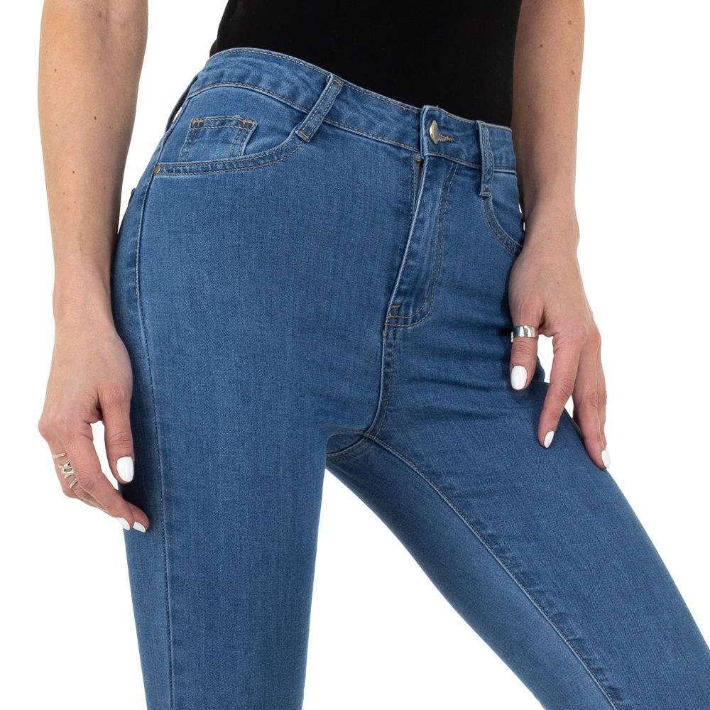 Blugi pentru femei de Naumy Jeans - deschis albastră - image 4