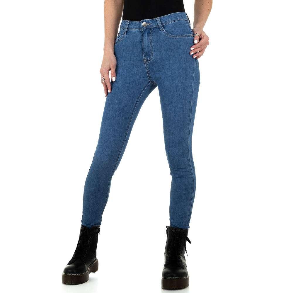 Blugi pentru femei de Naumy Jeans - deschis albastră - image 5