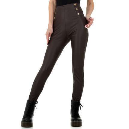 Damen Leggings von Holala Fashion - coffee