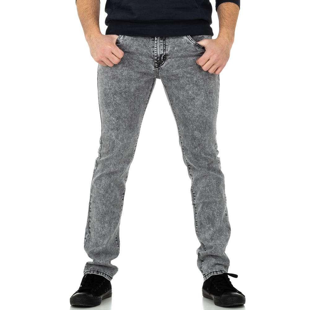 Pantaloni bărbați de M.Sara Denim - gri - image 2
