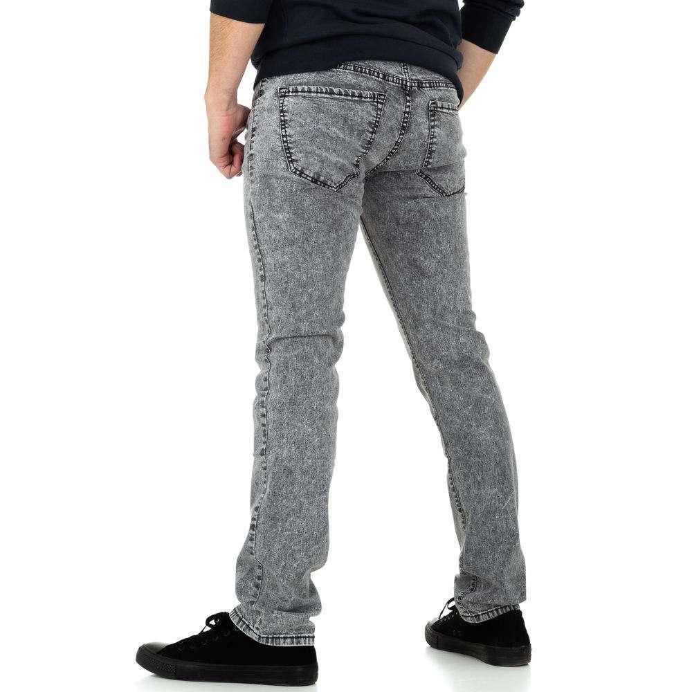 Pantaloni bărbați de M.Sara Denim - gri - image 3