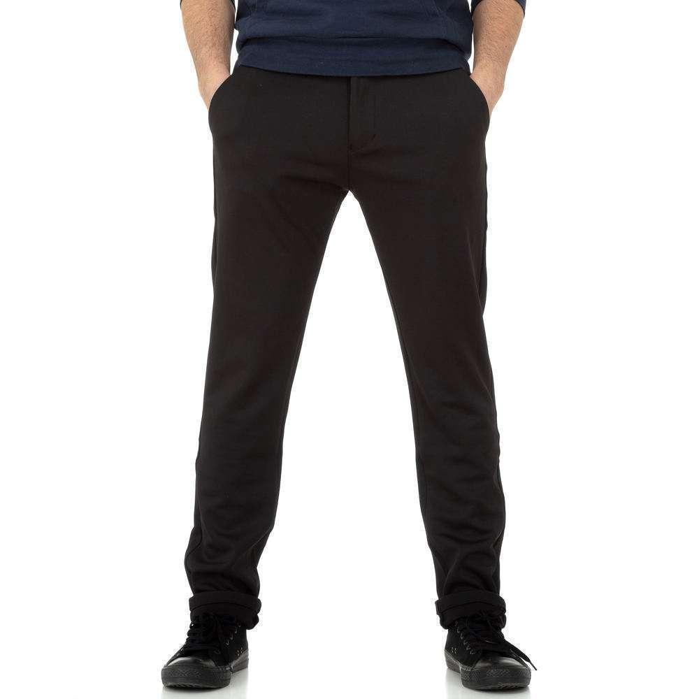 Pantaloni bărbați de M.Sara Denim - negru - image 1