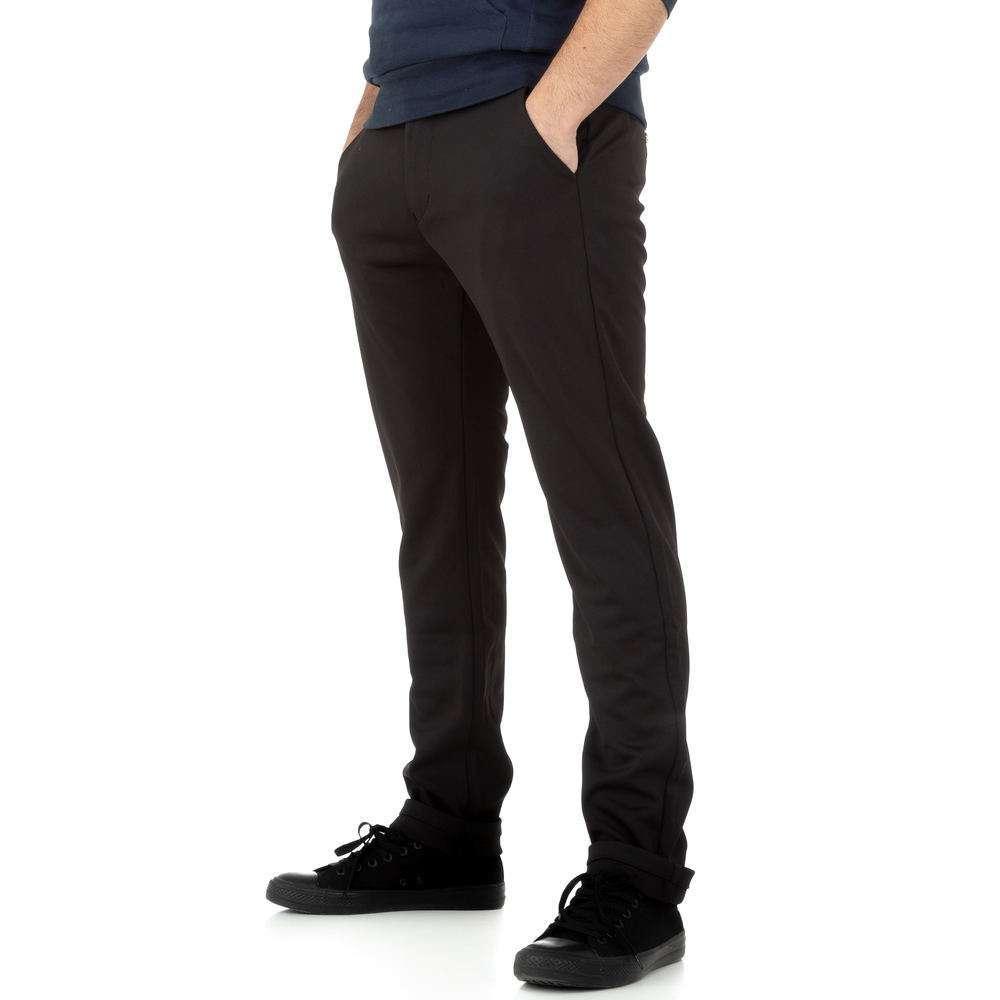 Pantaloni bărbați de M.Sara Denim - negru - image 2