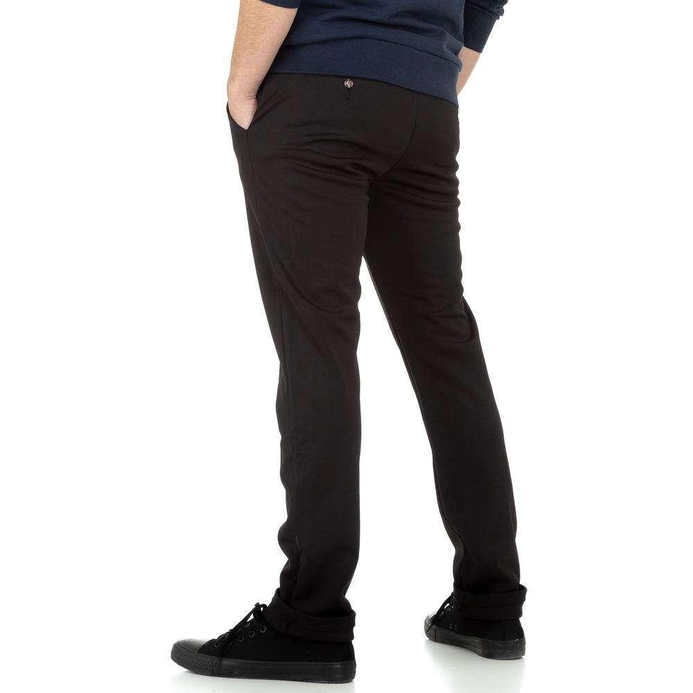 Pantaloni bărbați de M.Sara Denim - negru - image 3