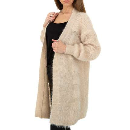 Damen Strickjacke von Shako White Icy Gr. One Size - beige