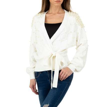 Damen Pullover von Shako White Icy Gr. One Size - white