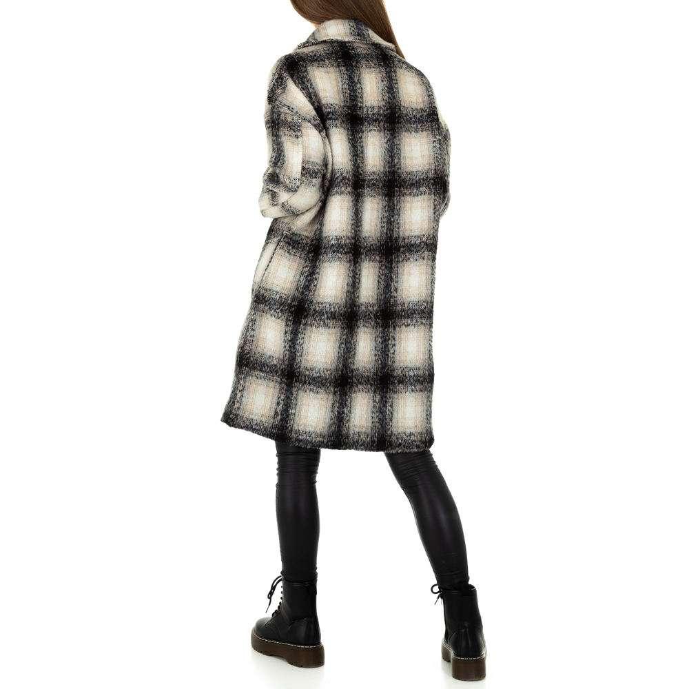 Palton de dama de la Shako White Icy - negru - image 3