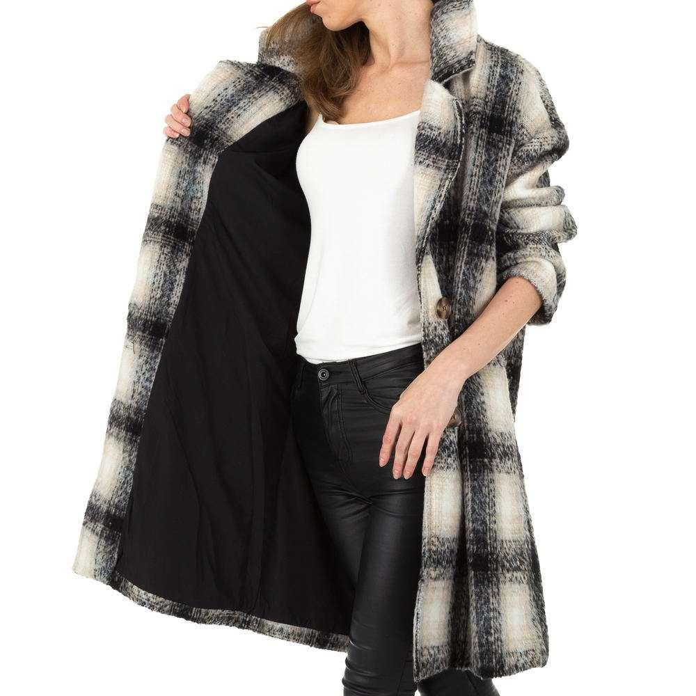 Palton de dama de la Shako White Icy - negru - image 4