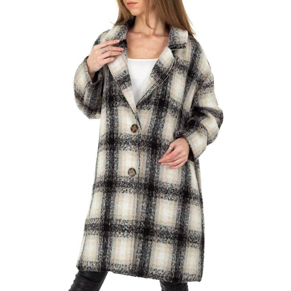 Palton de dama de la Shako White Icy - negru - image 5
