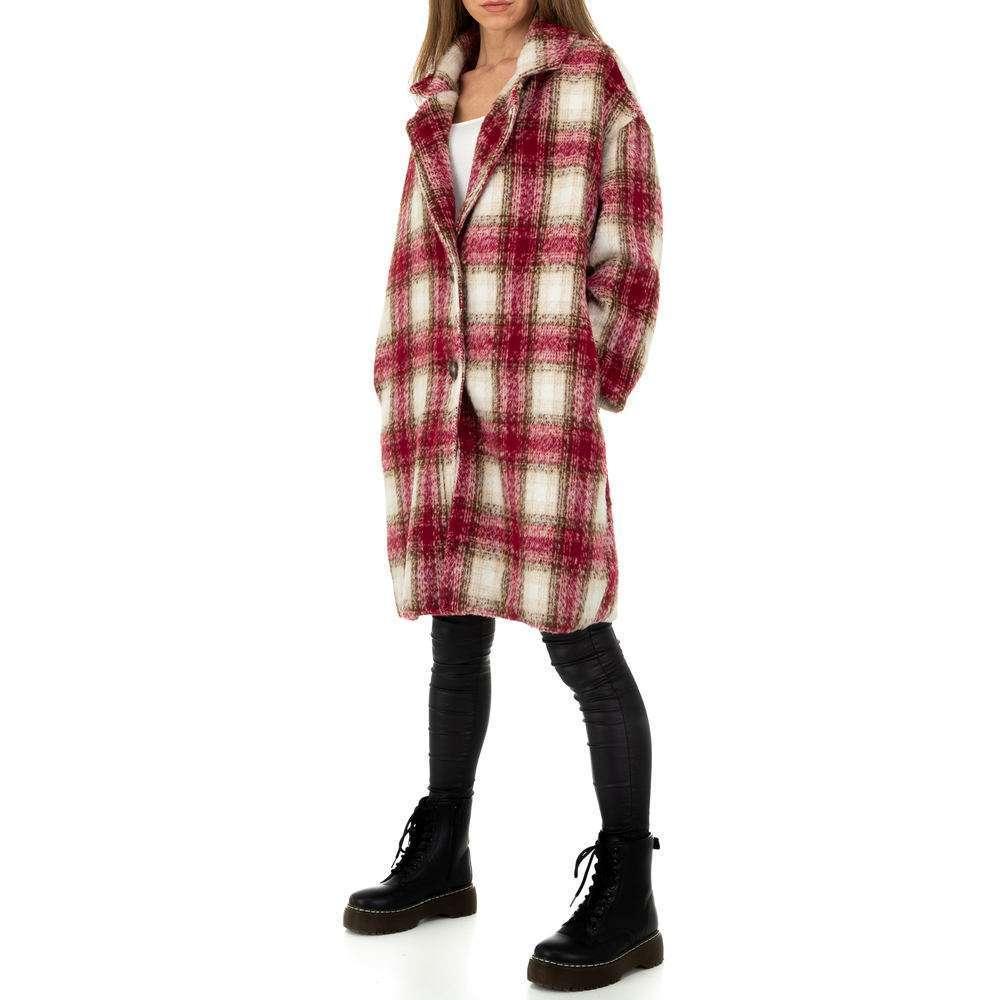 Palton de dama de la Shako White Icy - rosu - image 2