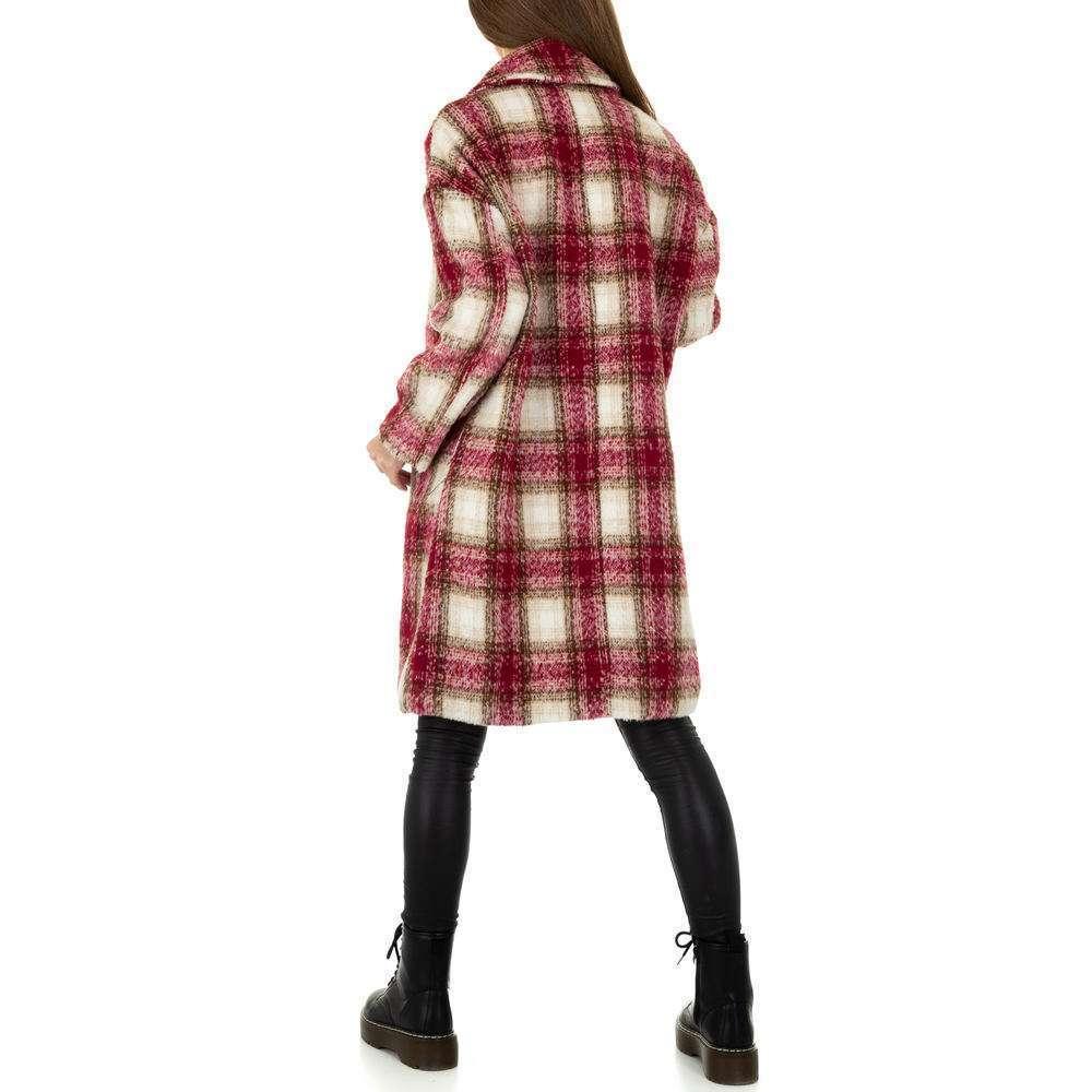 Palton de dama de la Shako White Icy - rosu - image 3