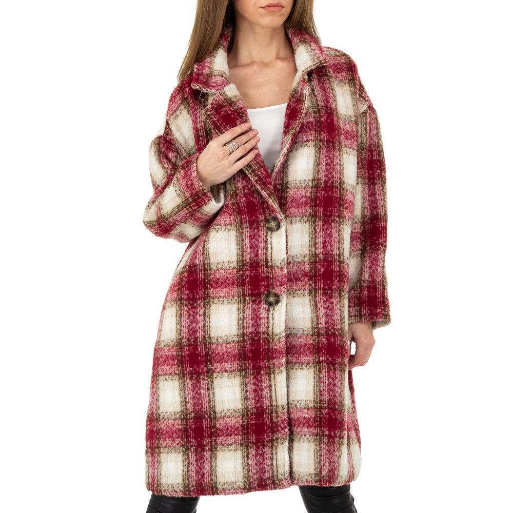 Palton de dama de la Shako White Icy - rosu - image 4