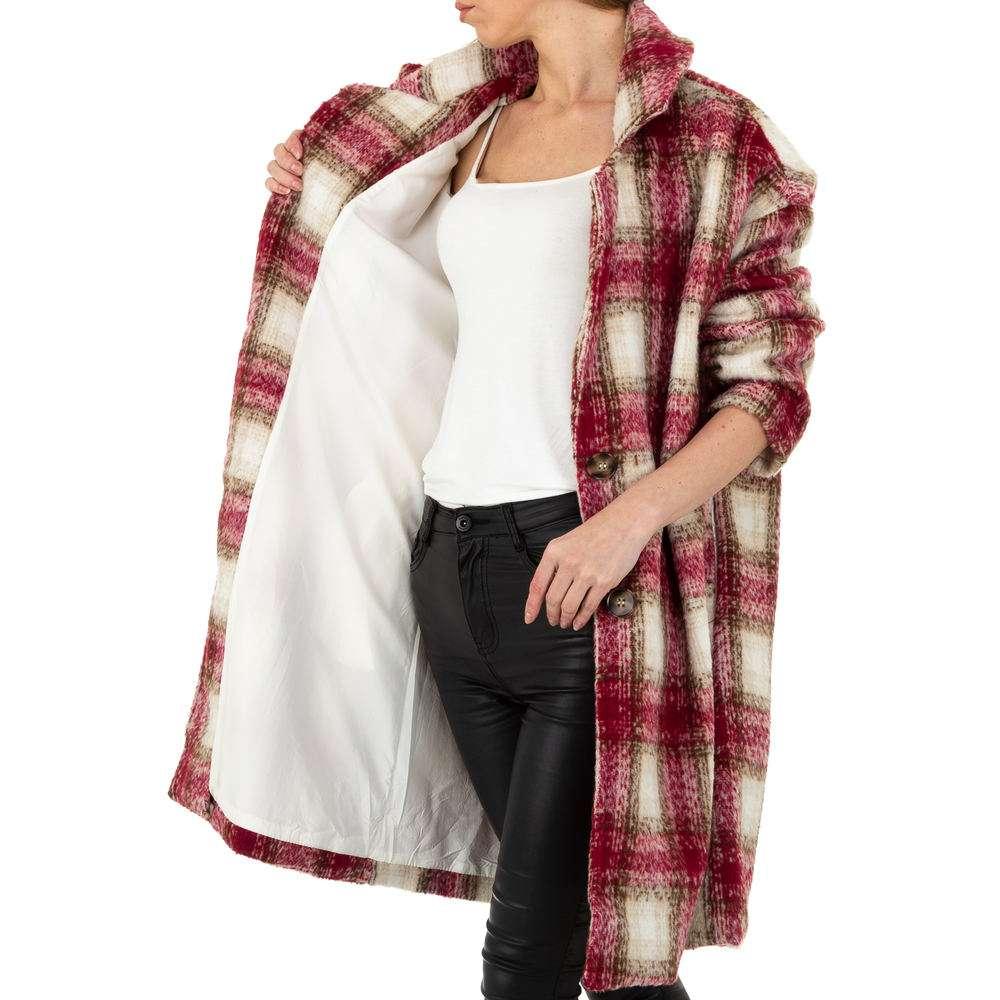 Palton de dama de la Shako White Icy - rosu - image 5