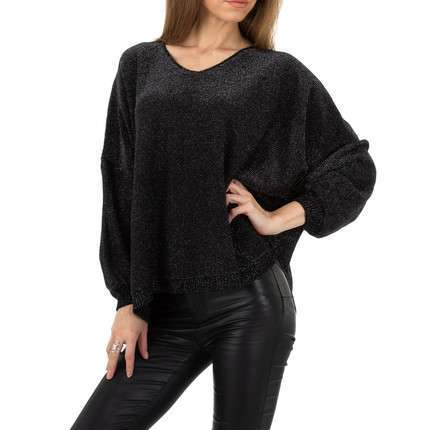 Damen Pullover von Whoo Fashion Gr. One Size - black