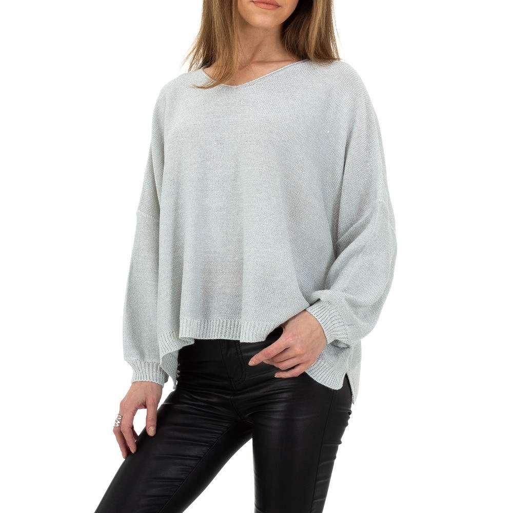 Pulover pentru femei de la Whoo Fashion Gr. O singură mărime - deschis gri - image 1